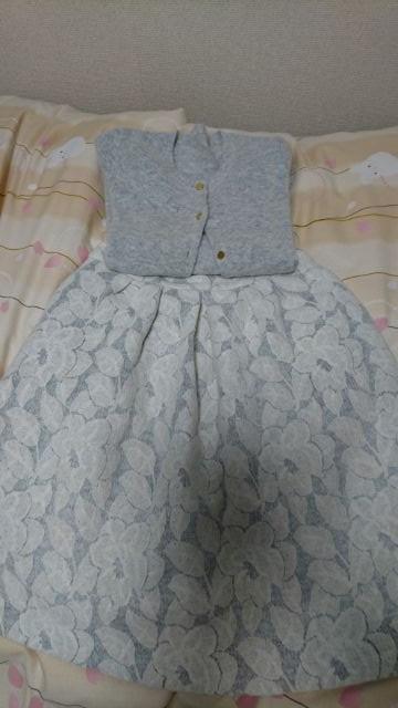 カーディガン&スカート