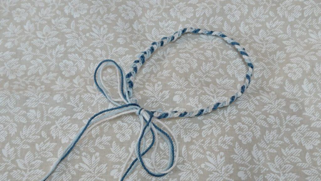 鎖編みのアクセサリー